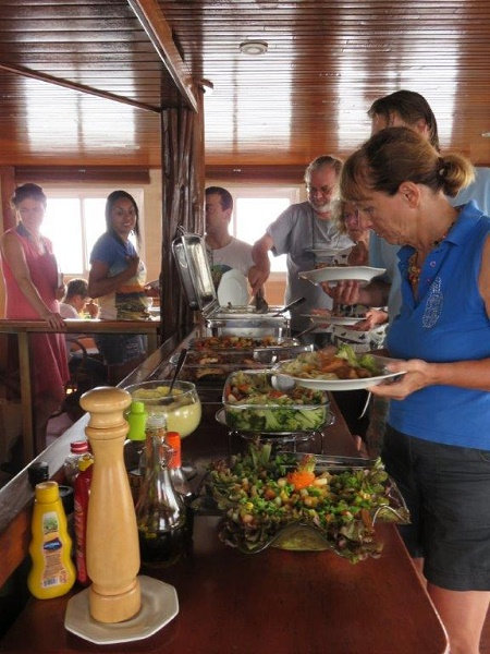 Brazil 640 buffet