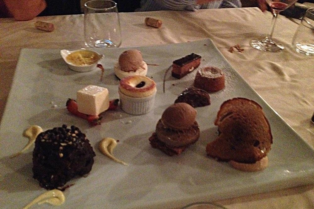 Amalfi Trattoria da Gemma desserts