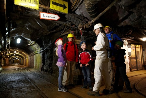 Inside the Rammelsberg mine at Goslar