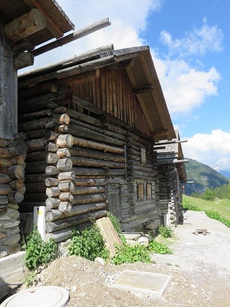 Tirol Scenic Route old wooden home