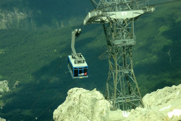 Tirol Zugspitze and cable car
