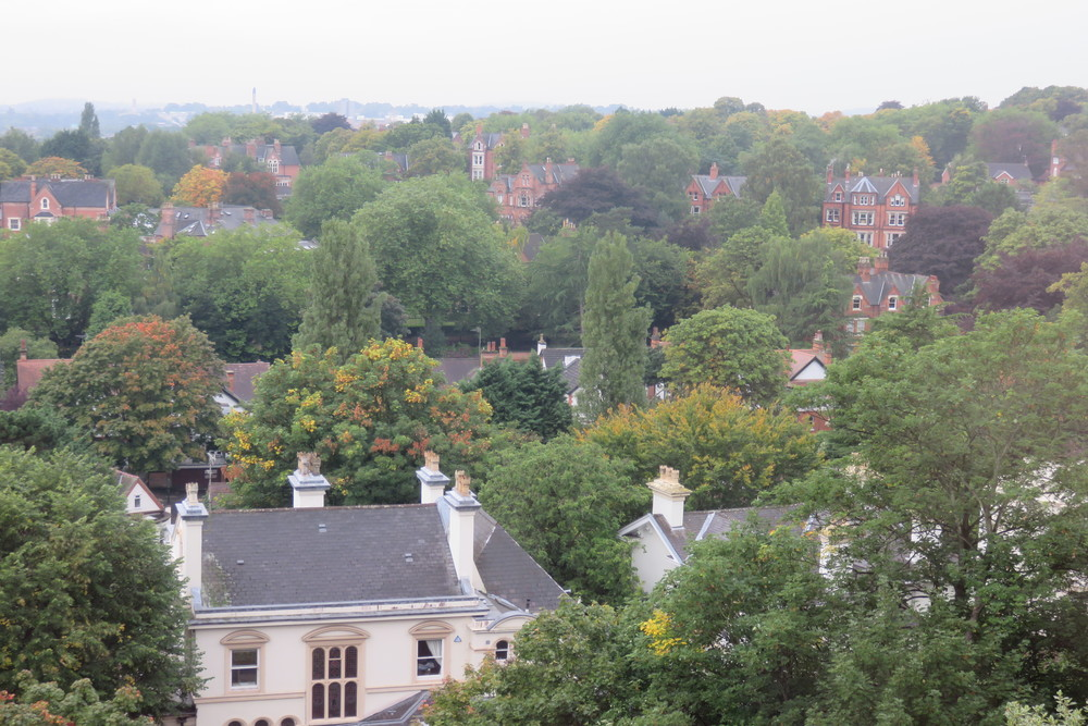 1 Nottingham view from Harts HotelJPG