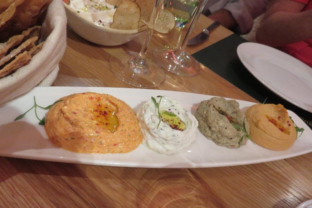 Bar Boulud Mezze platter
