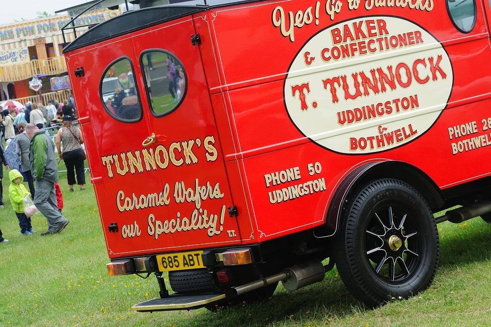 Vintage Tunnocks Van