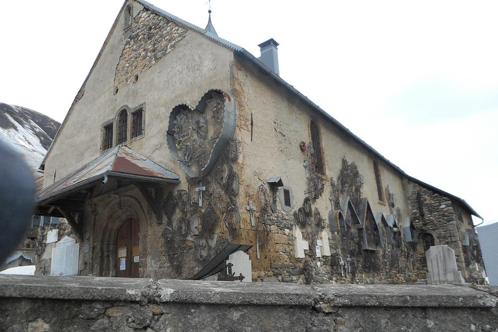Baroque chapel at Saint Sorlin