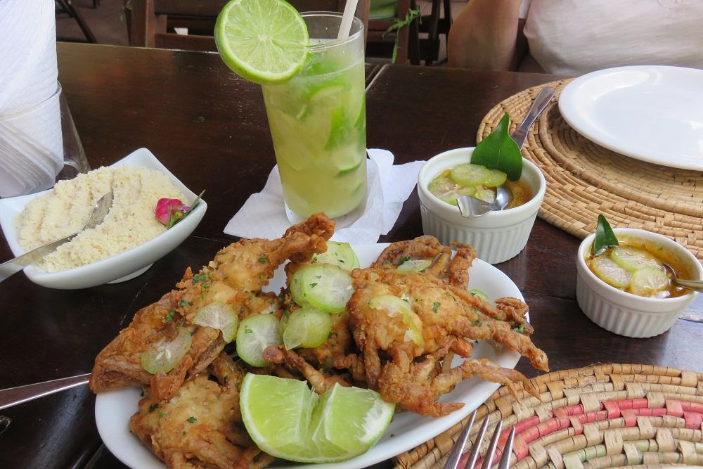 Salvador Bahian Cuisine Paraiso Tropical restaurant