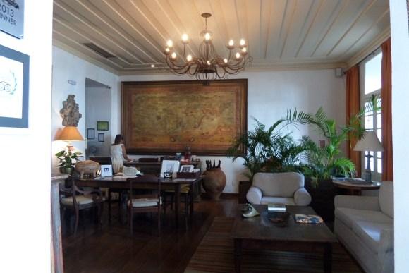 Bahia On the ground floor reception area