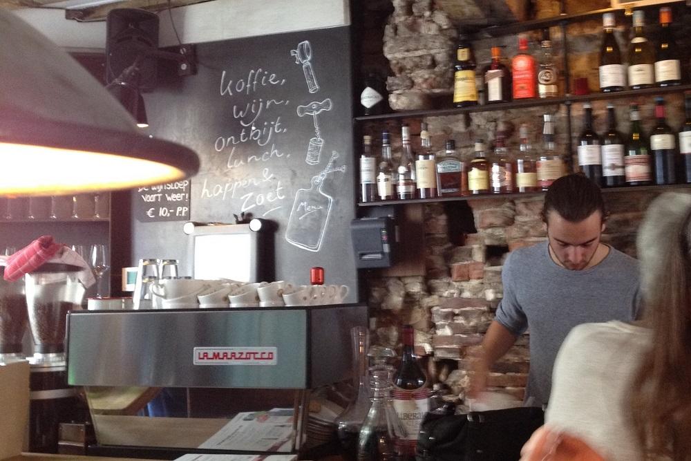 Utrecht An award winning wine and coffee bar Talud9