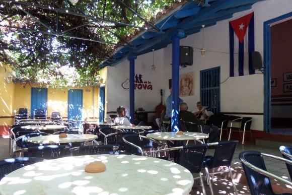 Trinidad Casa de la Trova cocktail bar