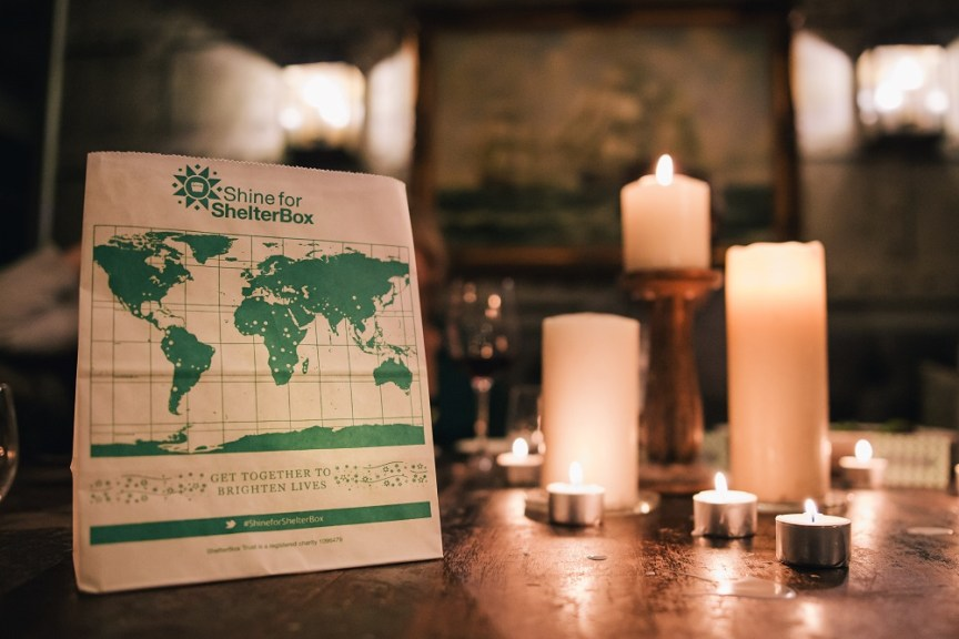 Shine for ShelterBox campaign brightens lives around the world