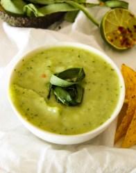Cucumber Avocado Dip Recipe