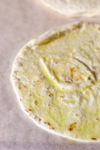 tortillas, olive oil