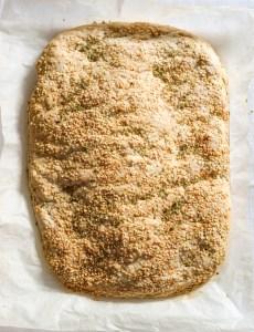 baked Lagana flatbread