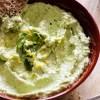 feta cheese, avocado, parsley, bread