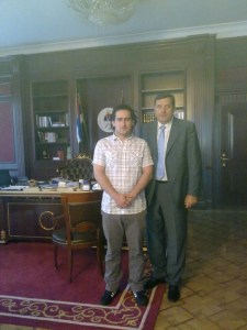 Prime minister and I