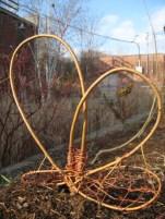 "26"" x 32"" x 1"" willow, 2013 (Evergreen Brick Works, Toronto)"