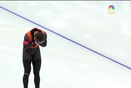 olympics crying silver