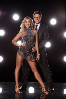 "DANCING WITH THE STARS - EMMA SLATER AND GOVERNOR RICK PERRY - The stars grace the ballroom floor for the first time on live national television with their professional partners during the two-hour season premiere of ""Dancing with the Stars,"" which airs MONDAY, SEPTEMBER 12 (8:00-10:01 p.m., ET) on the ABC Television Network. (ABC/Craig Sjodin)"
