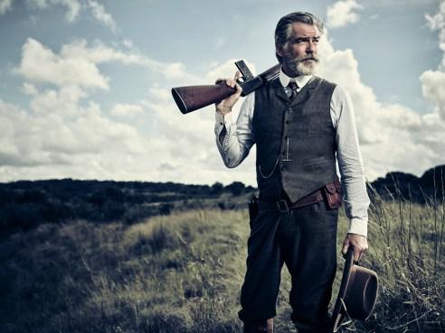 Pierce Brosnan as Eli McCullough - The Son _ Season 1, Gallery - Photo Credit: James Minchin/AMC