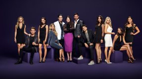 VANDERPUMP RULES -- Season:6 -- Pictured: (l-r) Lala Kent, James Kennedy, Scheana Marie, Ariana Madix, Tom Sandoval, Lisa Vanderpump, Jax Taylor, Tom Schwartz, Katie Maloney-Schwartz, Stassi Schroeder, Kristen Doute, Brittany Cartwright -- (Photo by: Tommy Garcia/Paul Drinkwater/Bravo)