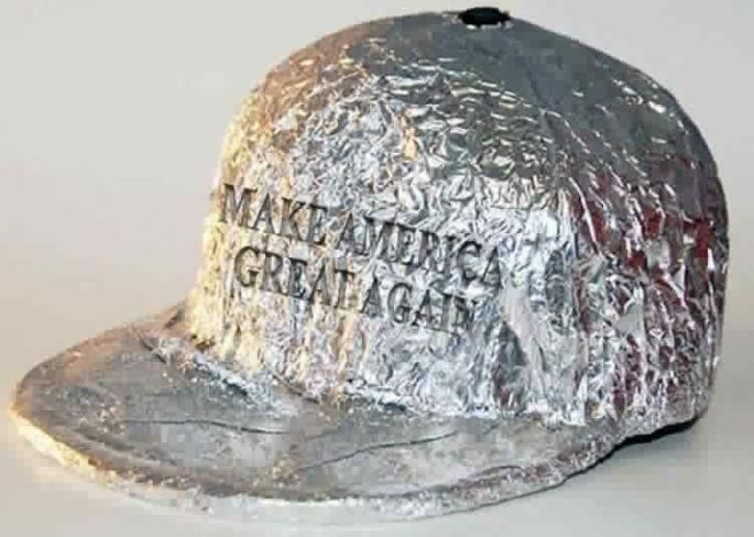 make america great again tinfoil hat