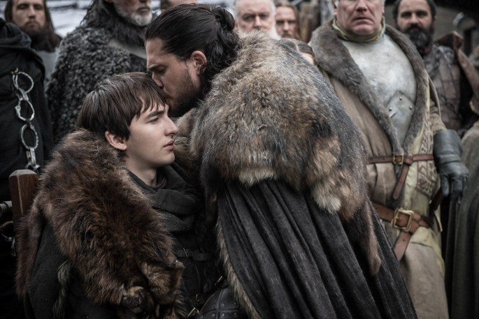 game of thrones season eight episode one jon bran
