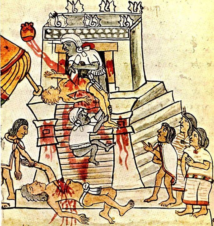 aztex sacrifice
