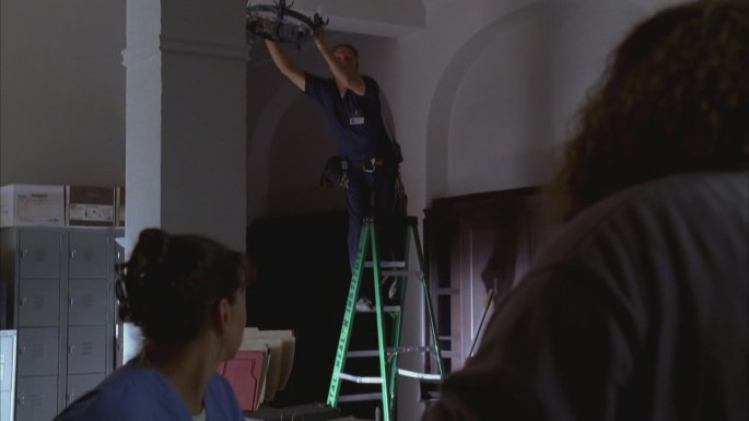 numbers lost janitor ladder