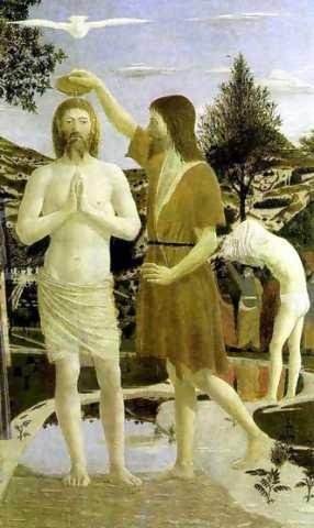 baptism of christ francesca