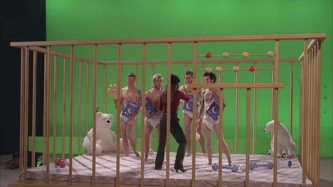 fire + water lost crib polar bear commercial