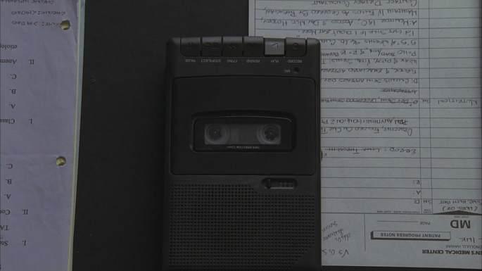 lost ? audiotape