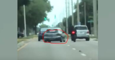 Sarasota County Sheriff's Office Need Your Help To Identify The Driver That Rammed A Motorcyclist During A Road Rage Incident