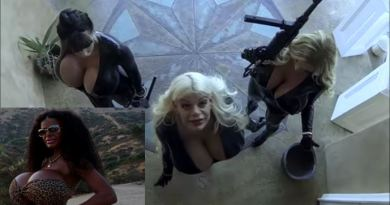 Codename Diablo. Ridiculous Movie ( A Big Titty Charlie's Angels) Staring Martina Big Before Her Transformation Into A Black Woman.