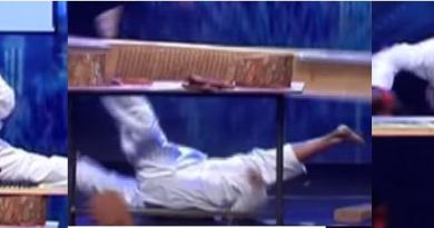 Karate Man Knocked Himself Out On Sri Lanka's Got Talent Audition…OH LORD!!! They Let Him Make It Through To The Next Round