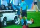 Aw Man! The Medic Cart Ran Over The Foot Of An Already Injured Player