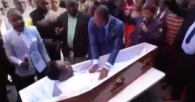 South African Pastor Alph Lukau Claims To Raise A Man From The Dead, Funeral Parlor Sues For Making Them Look Like Fools.