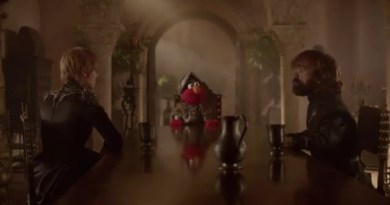 Always Teaching. Sesame Street's Elmo Teaches Game Of Thrones 'Cersei' And 'Tyrion' About Getting Along.