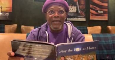 Samuel L Jackson Wants Us All To Stay The F**k Home