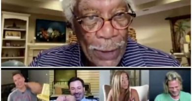 "Morgan Freeman Narrates The Reading Of Fast Times At Ridgemont High ""Brad Was Jacking Off"" Also, Brad Pitt And Jennifer Aniston Reunited For The Reading"