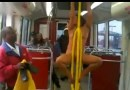 You Need To Be 18 To View This Mess. The Craziest Sh!t Ever. A Crazy Racist Naked Lady On The Bus.