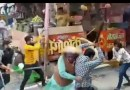 Turf War! Some Indian Street Vendors Get Into A Massive Brawl