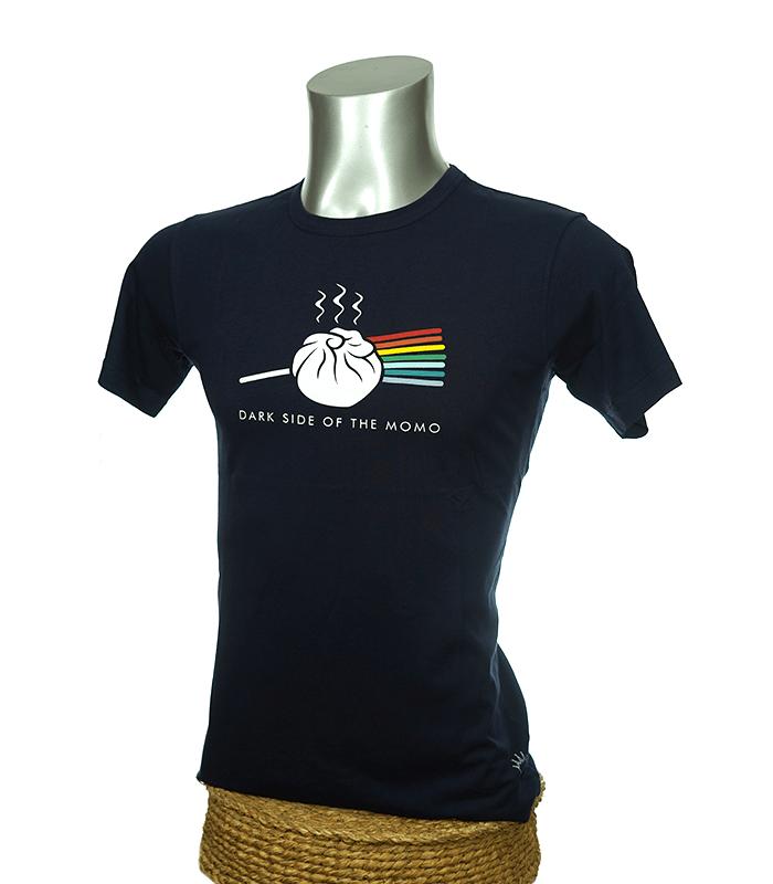 Momo printed nepali t-shirt