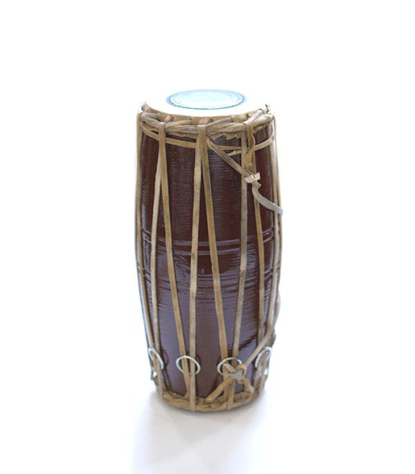 """10 """" Madal - Nepali handmade wooden drum"""