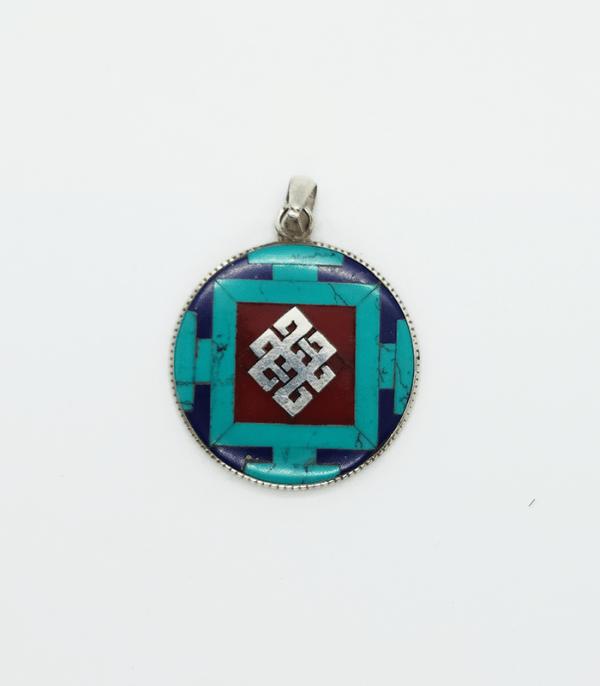 Jewelry: Mandala Endless Knot Pendant