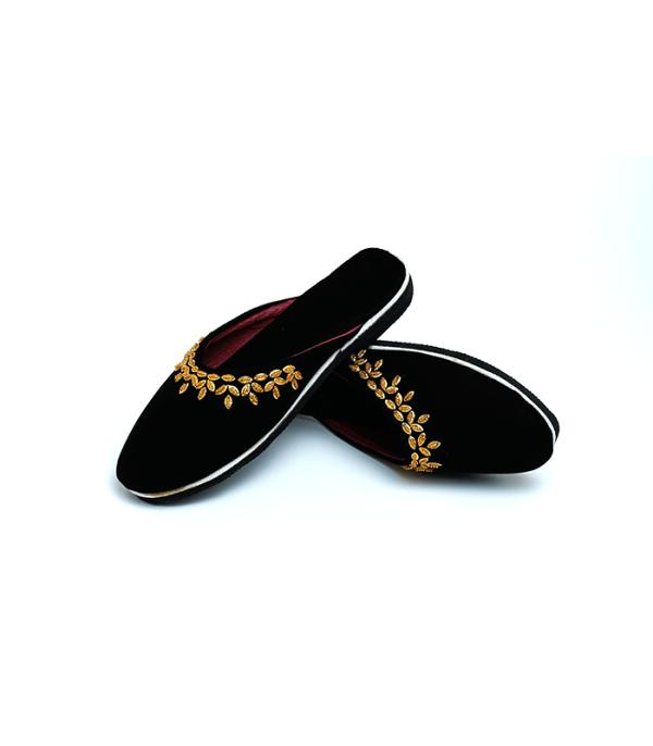 Nepali Black Border shoes