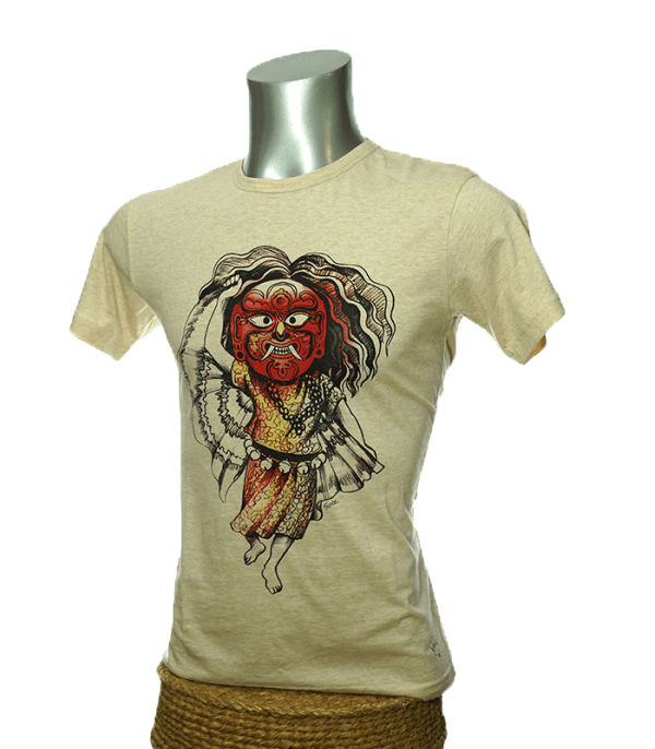 Lakhe printed t-shirt