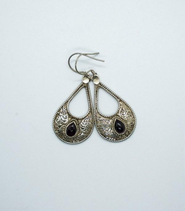 Nepali Drop filigree Earrings
