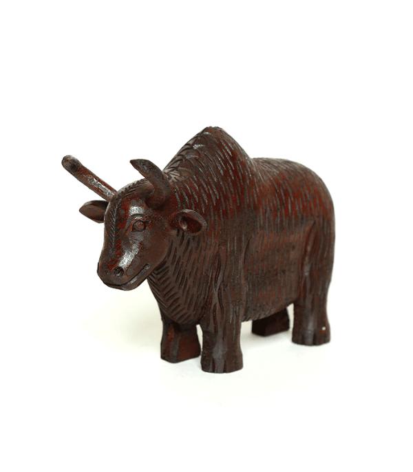 Wooden Himalayan Yak - चौँरी - Domestic Animal of Nepal