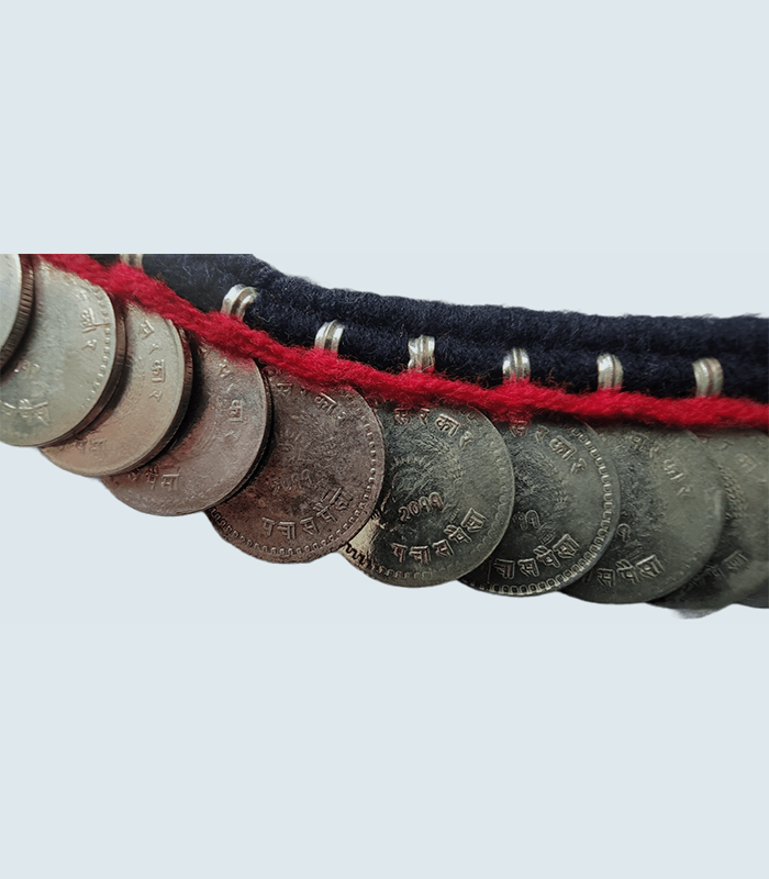 Haari Maala 70 coins Necklace of Kirati Culture (B.S. 2011)