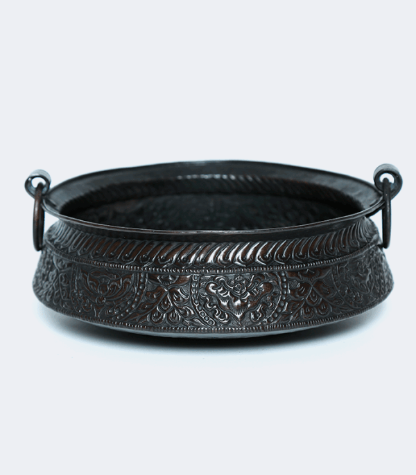 """Khadkulo with Astamangal Antique 8"""" - Traditions of Nepal"""